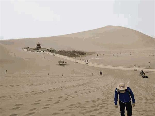戈壁沙漠,徒步,倉儲貨架